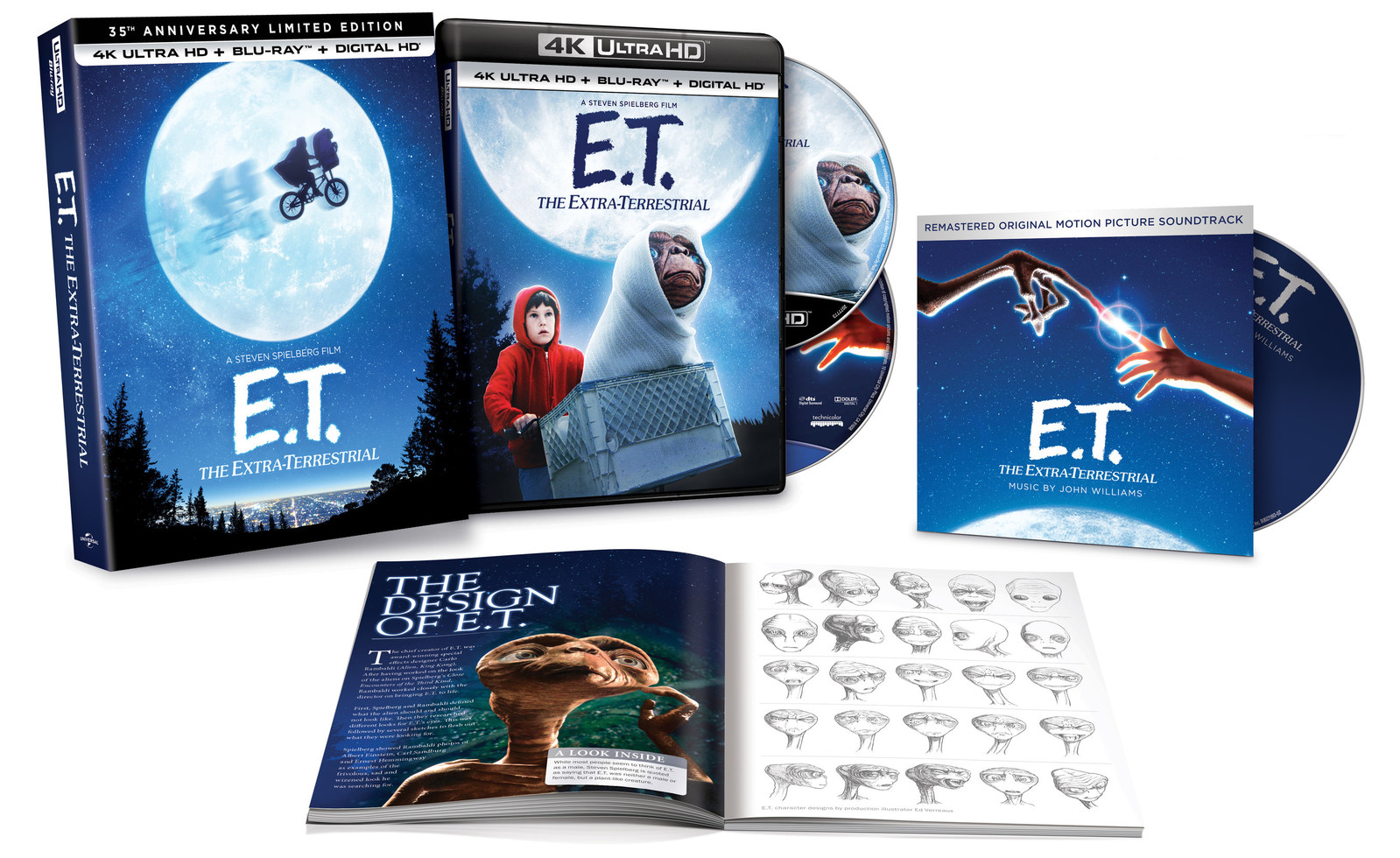 E.T. The Extra-Terrestrial 35th Anniversary Gift Set Coming to Blu-ray and 4K on 9/12